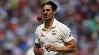 Mitchell Johnson eyes mentor Dennis Lillee's record in Test cricket